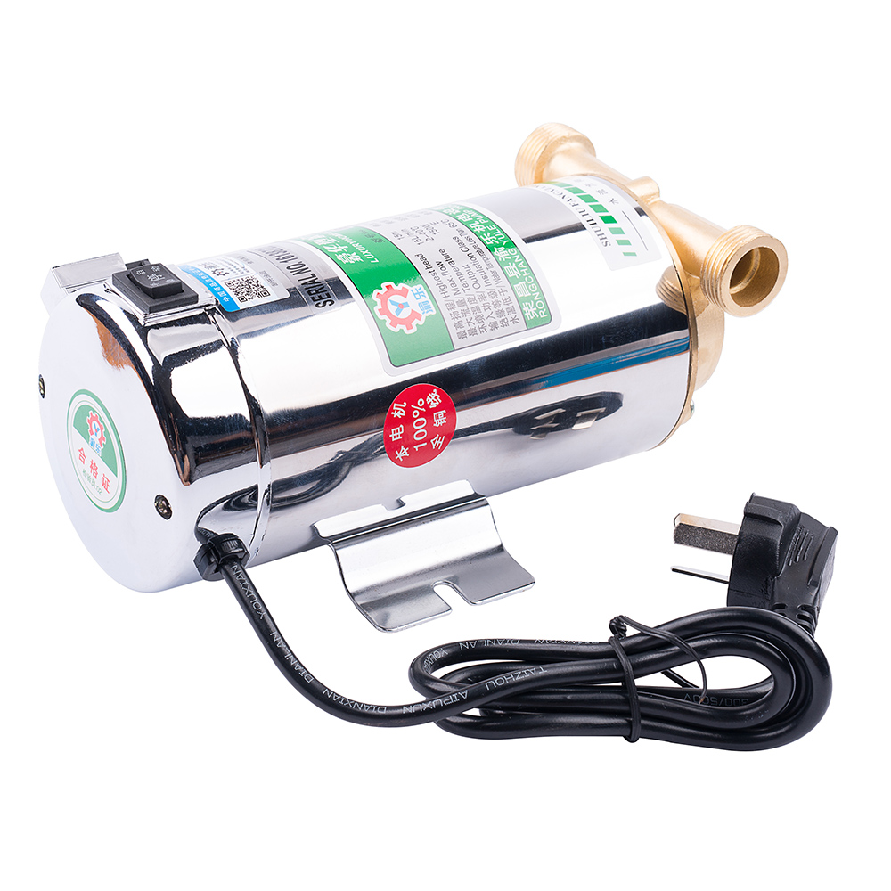 220v Household automatic gas water heater solar water pumps water pressure booster pump boosting pumps100W water pump(China (Mainland))