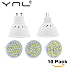 Buy 10PCS/Lot Lampada Led E27 E14 GU10 MR16 Led Lamp 220V High Bright Bombillas LED Bulb SMD2835 48 60 80LEDs Lampara Spotlight for $10.27 in AliExpress store