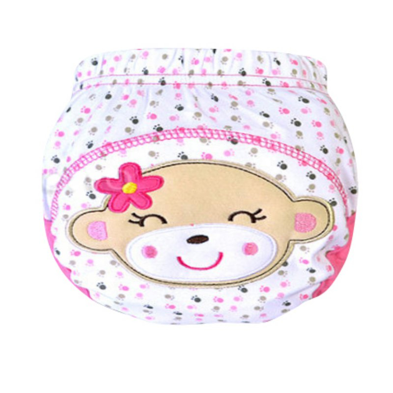Hot Kids Nappy Cotton Underwear Training Pants Toilet Potty Baby Cloth Diaper Cover H34(China (Mainland))