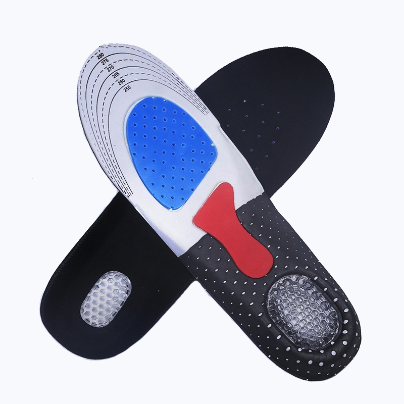 2 pairs 2016 new EVA gel insole Free Size Unisex Orthotic Arch Support Shoe Pad Sport Running Gel Insoles Insert Cushion(China (Mainland))
