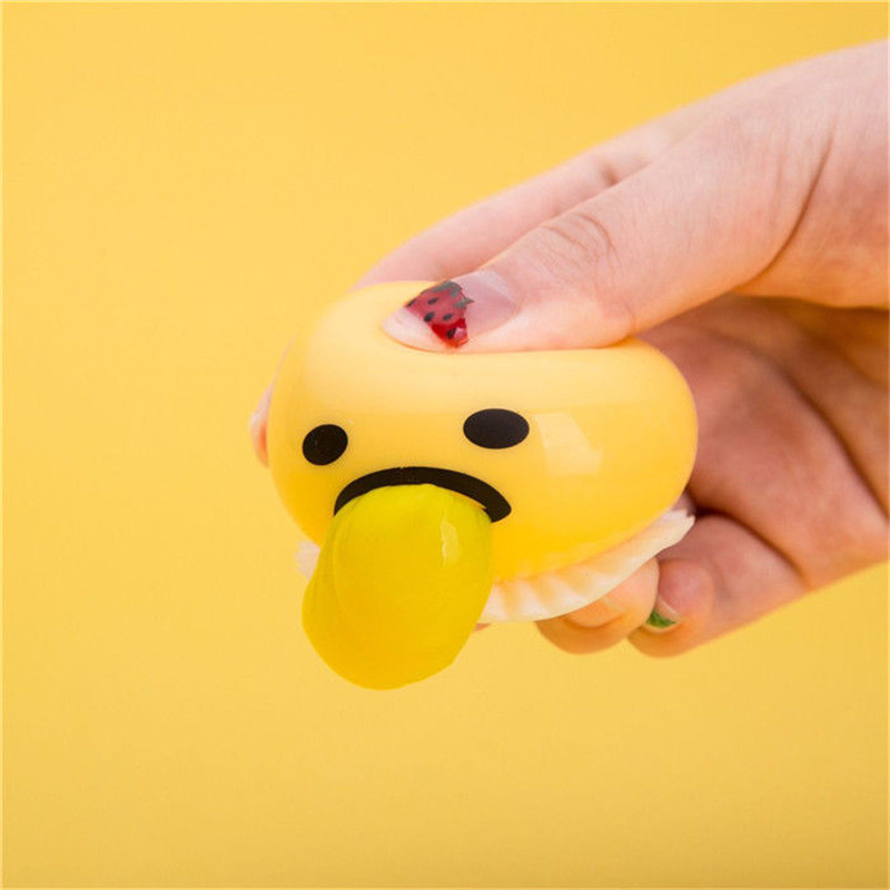 1 piece Novelty Magic Egg Tricky Toy Gudetama antistress slime eggs Fun toys For Kid or adult Gift Gadget(China (Mainland))