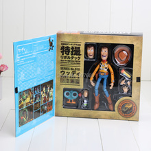 Toy Story Woody Series NO. 010 Sci-Fi Revoltech Special PVC Action Figure Collectible Toy(China (Mainland))