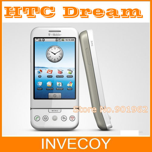 Original HTC Google G1 Dream unlocked mobile phone android WIFI GPS 3G 3.2 inches touch screen 3.15 MP freeship free(China (Mainland))