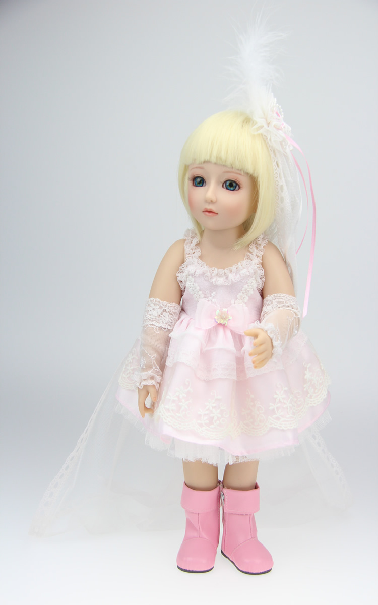 18'' SD/BJD Doll Fairy doll toys Handmade Baby Dolls Toys Lifelike And Real Looking Toys Best Girls Gift Collectible Girl Dolls(China (Mainland))