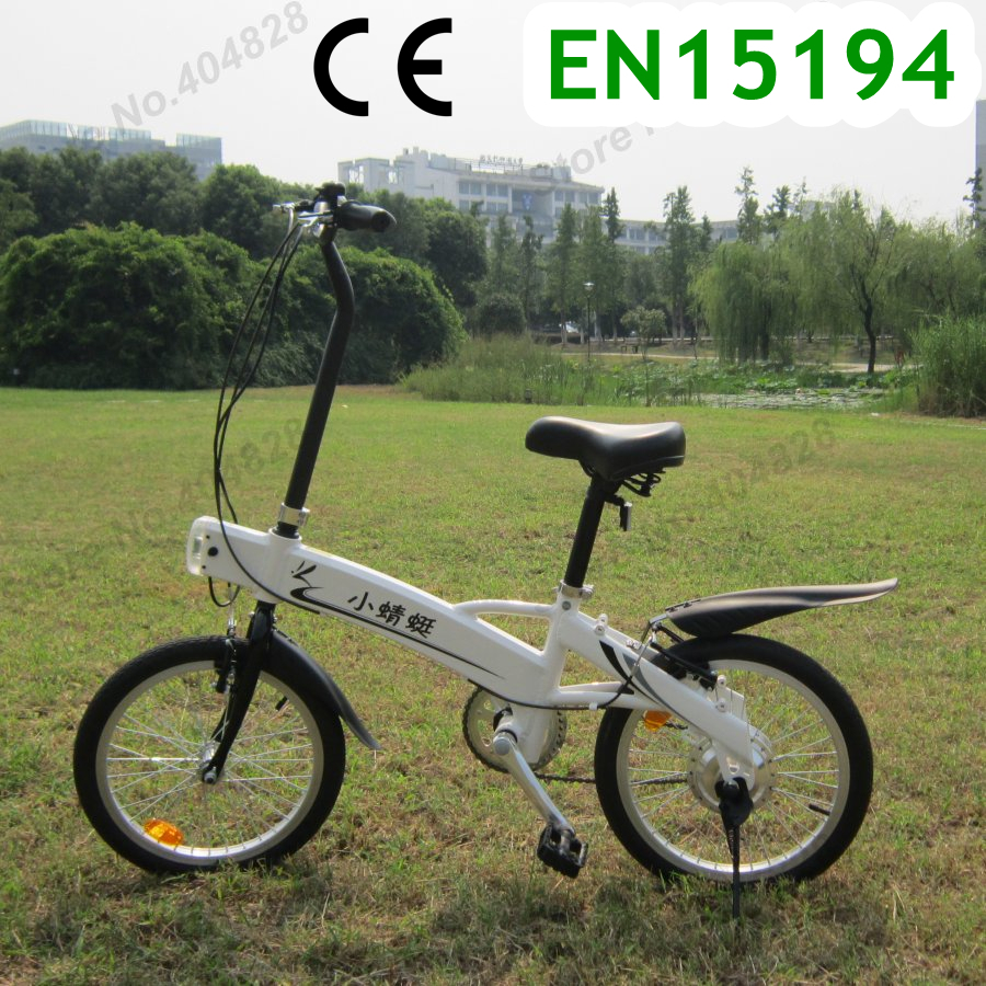 CE & EN15194 Authentication 18''' LI-battery Electric Bicycle,Max 25Km/h,150KG Load,24V 8.8Ah,180W Power Motor.Quality assurance(China (Mainland))