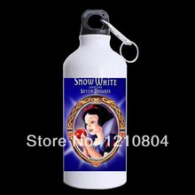 2014 New Custom Snow Write Princess Mug mental sports water bottles 650mm Unique design for outside Sport Cup(China (Mainland))