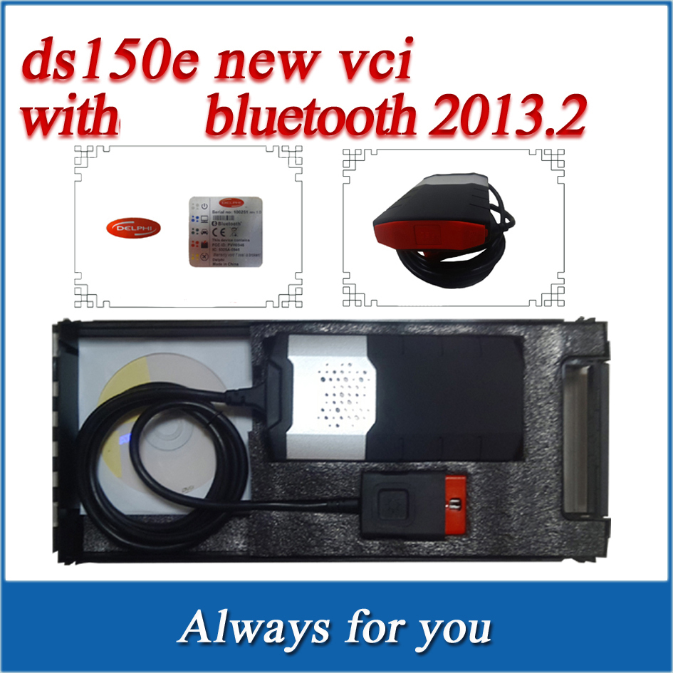 SUPER ! Newest vci (2013.2) Software TCS cdp pro plus DS150E Bluetooth LED freeshipping