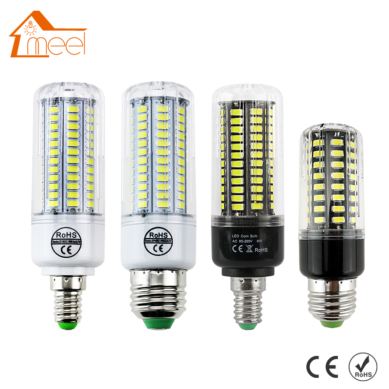 Bombillas LED Bulb E14 SMD 5730 AC 110V 220V 7w 12w 15w 18w 20w 25w 30w Led Lamp E27 Corn Light Chandelier Candle Lighting(China (Mainland))