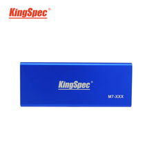 KingSpec Super Speed USB 3.0 External Portable SSD Inside with NGFF (M.2) SSD Hard Disk Box Blue+ FreePost(China (Mainland))