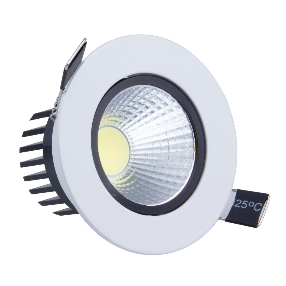 Dimmer For Recessed Lighting : Pcs w led cob spot light dimmable recessed