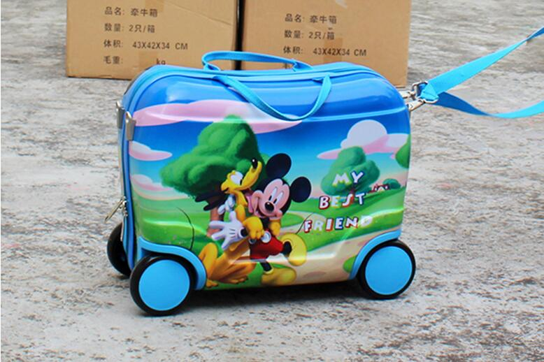 Online Buy Wholesale mickey rolling luggage from China mickey ...