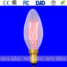 Cheap price vintage Edison bulbs/C32 candle bulbs wholesale(China (Mainland))