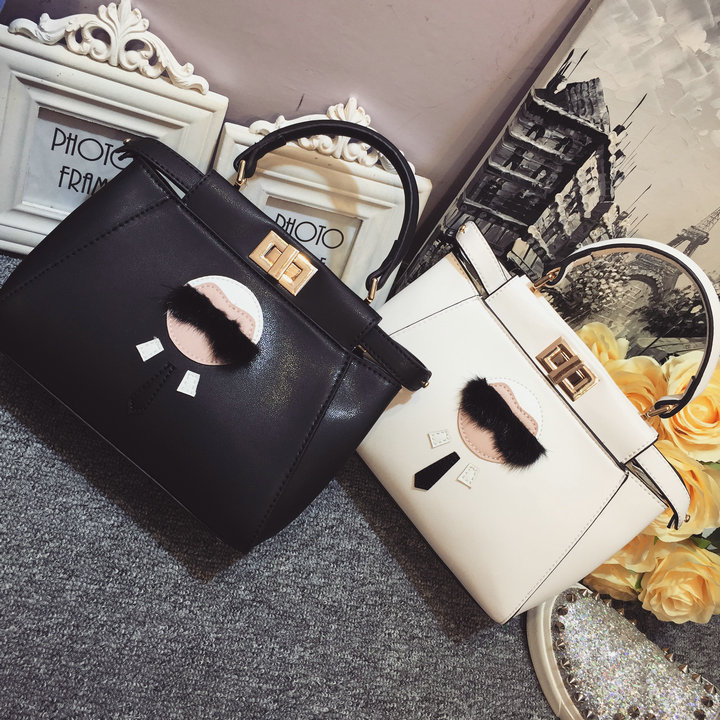 New Arrival Ladies Top Fashion Leather Personality Handbag High Quality Women Cat Bag 2015 Freeshipping Shoulder Messenger Bag(China (Mainland))