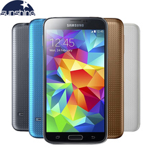 "Buy Unlocked Original Samsung Galaxy S5 i9600 Mobile Phone WIFI Quad Core 5.1"" 16MP NFC Android Smartphone Refurbished Phone for $144.39 in AliExpress store"