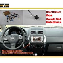 Buy Car Rear View Camera / Back Reverse Camera Sets Suzuki SX4 SX-4 SX 4 Hatchback / RCA & Original Screen Compatible for $32.50 in AliExpress store