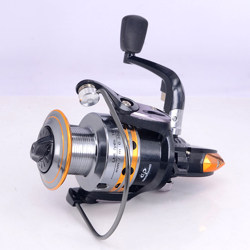 Great Fishing reels small reel front drag spinning fishing reel 9BB 5.2:1/5.5:1 feeder coil fishing tackle without fishing rod(China (Mainland))