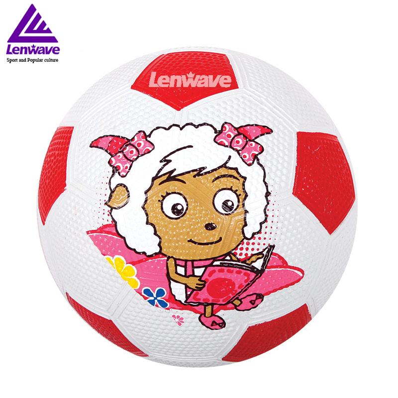 Plesant Goat and Big Big Wolf Kid Football Ball Size 1 Children's Sports Training Soccer Ball(China (Mainland))