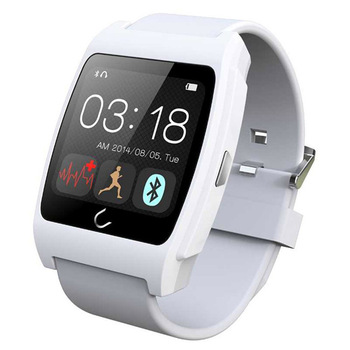 2015 NEW smart fitness device chest strapless bluetooth heart rate monitor watch for BLE 4.0 Android phone in workouts belt-free