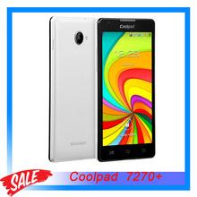 "Original Coolpad 7270+ 5.0"" 3G Android 4.2 Smart Phone MTK6582M Quad Core 1.3GHz RAM 512MB+ROM 4GB Dual SIM WCDMA & GSM"