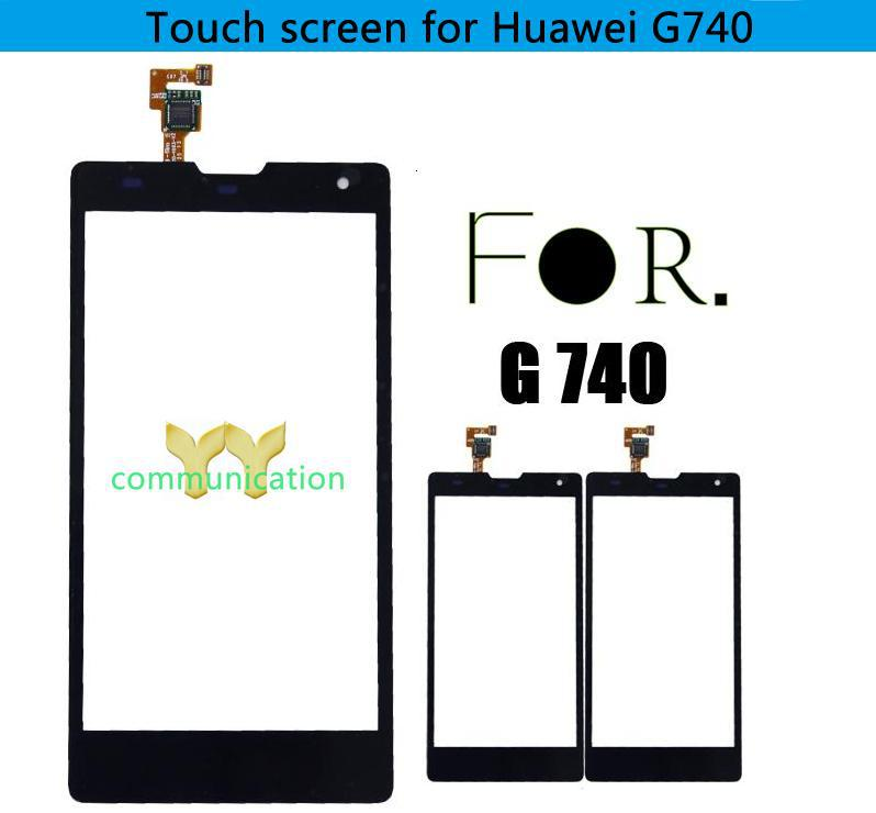 Buy One Digitizer Get One 9 In 1 Tools!Touch Glass Lens Repair Parts For HUAWEI Ascend G740(China (Mainland))