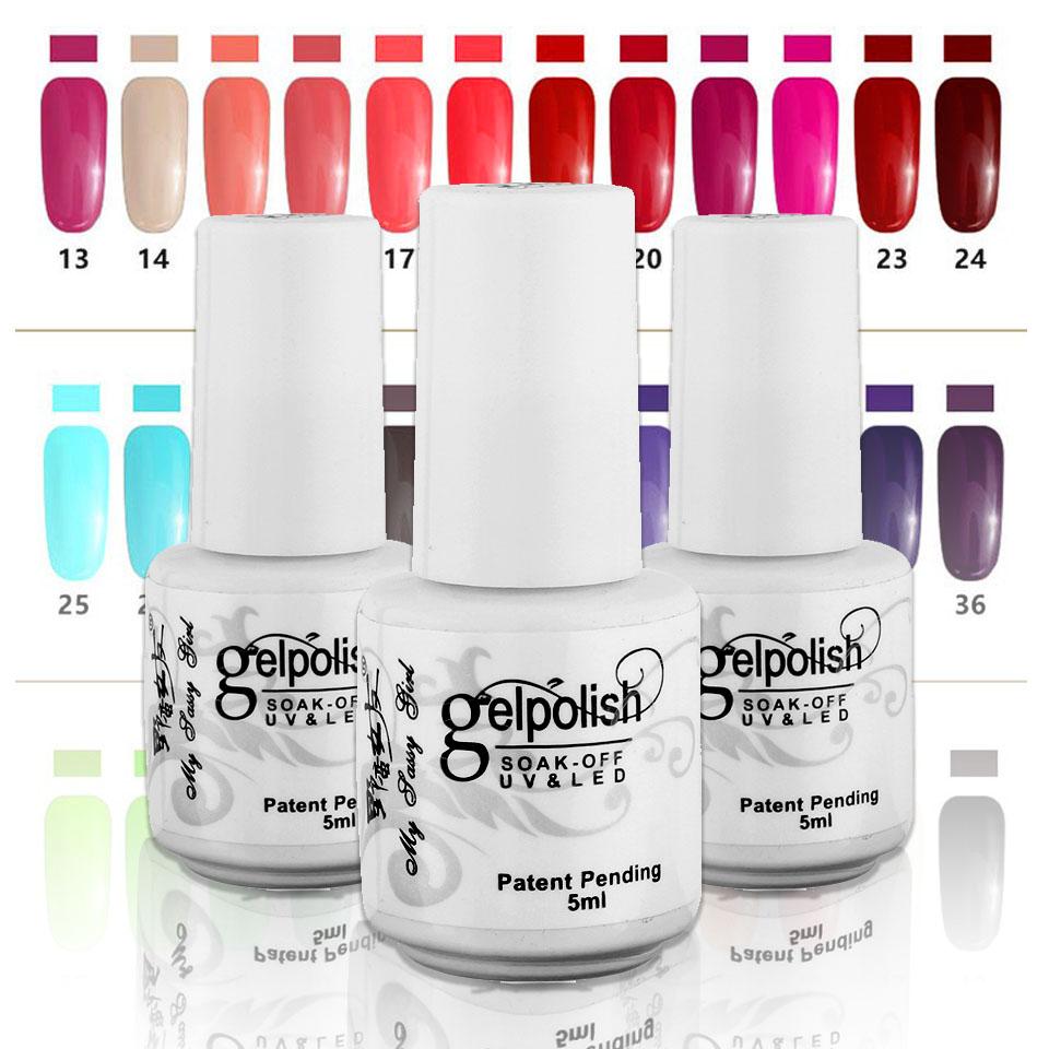5ml UV Gel Nail Polish Gelpolish Soak Off LED Gel Polish 120 Color Shining Colorful Soak Off Nail Art Manicure Decoration ZJ1339(China (Mainland))