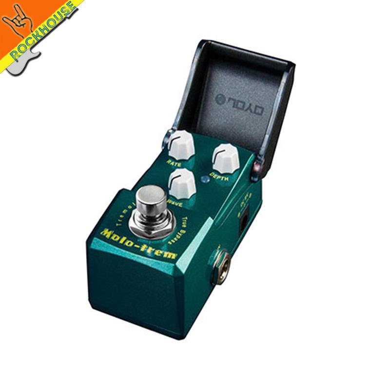 Joyo ironman tremolo guitar effect pedal tremolo guitar effect