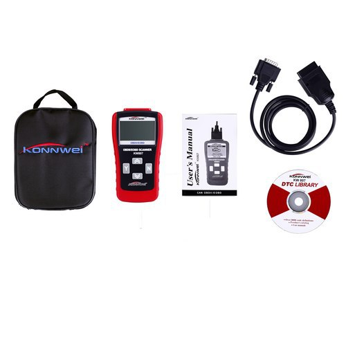 Usefully Car Repairing Tool KW807 OBD2 Scanner Computer Auto Code reader Scanner Vehicle Diagnostics Tools(China (Mainland))