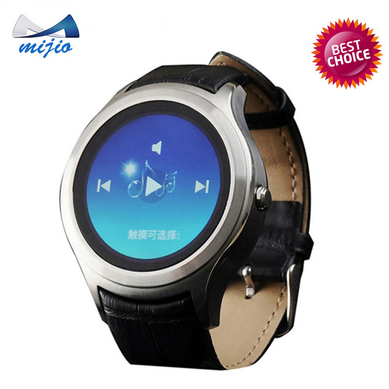 2016 new arrival circle mini 3G Android phone health Smart Watch X1 1.3 inch IPS Android 4.4 GPS wifi SIM compass heart rate(China (Mainland))