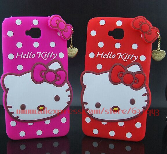 For LG G Pro Lite Case Cover Silicone Hello Kitty Soft Mobile Phone Cases For LG G Pro Lite D686 D685 D684 D680(China (Mainland))