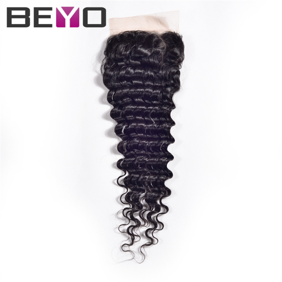rosa hair products brazilian virgin hair with closure 1 pcs lace closure grade 7a virgin hair brazilian deep curly virgin hair