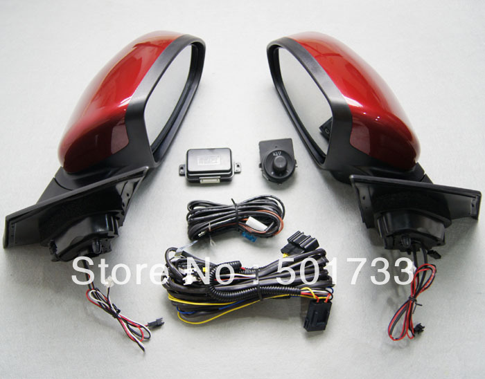 Luxury Side Mirror Assembly for Cheverolet Cruze, with Power Folding, Auto Folding, LED Turn Signal and Heated Mirror<br><br>Aliexpress