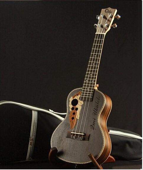 New all Rosewood Soprano Ukulele small guitar 21 Black Hawaii Small Guitar Musical Instruments