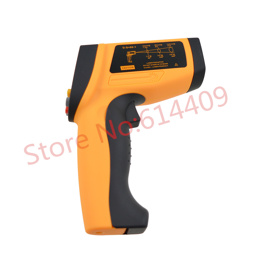 BENETECH GM1650 Handheld Non-contact Laser Digital Far Infrared Thermometer Gun Multiple Choices Metallurgy Professional <br><br>Aliexpress