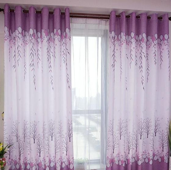 Purple Curtains For Bedroom Living Room Curtains For Living Room Half Lightproof Bedroom Or Sitting Room