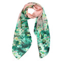 Modern 2015 Flower Printing Chiffon Scarves Women Autumn Winter Soft long Scarf Shawl Wrap150cmx70cm Easy Match