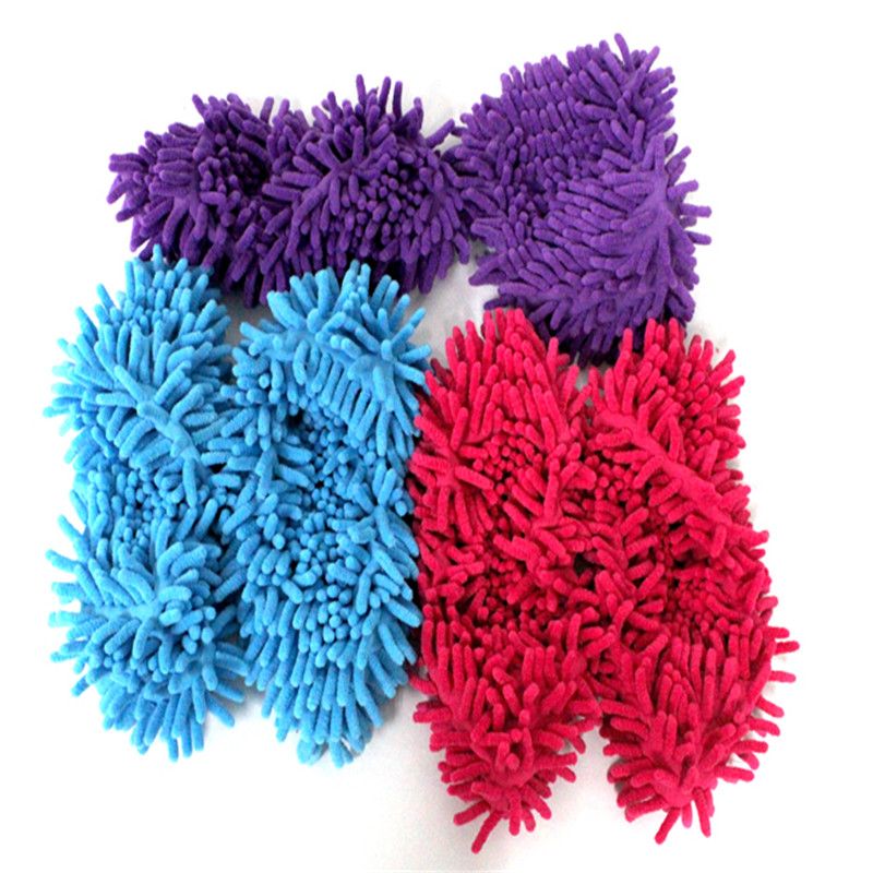1 x Multifunction Mop House Bathroom Floor Lazy Dust Cleaner Slipper Shoes Cover(China (Mainland))