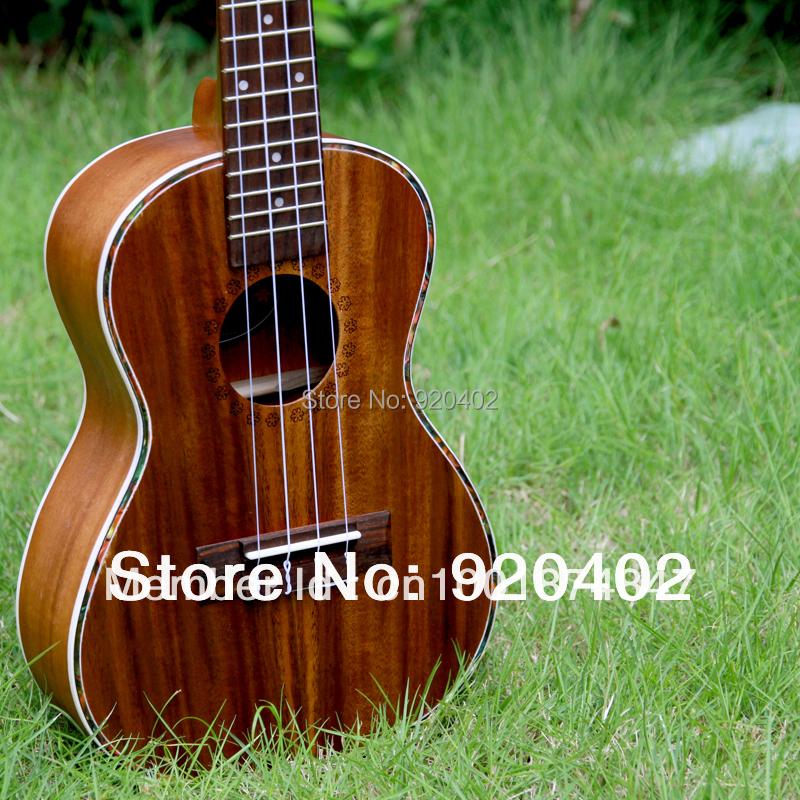 """Free shipping 23"""" Flame KOA concert Ukulele mini child hawaii guitar ukelele uke handcraft wooden musical instrument guitarra(China (Mainland))"""