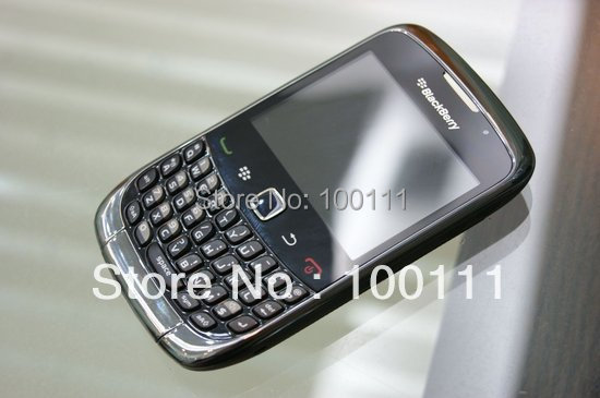 Free shipping 4 pcs /lot 100% 9300 Original Unlocked Blackberry 9300 cell phone Wholesale with Free shipping(Hong Kong)