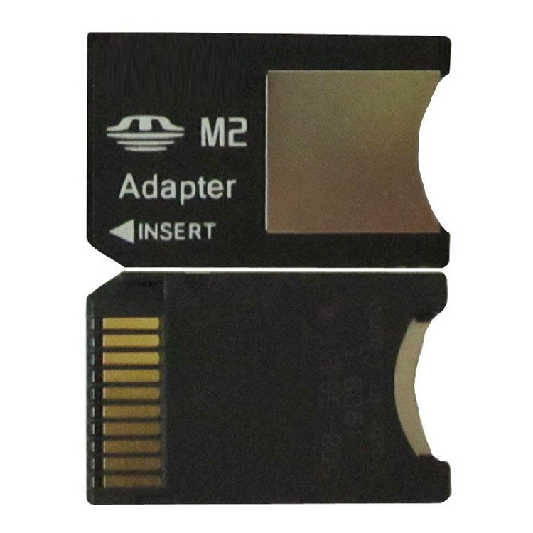 100PCS M2 TO MEMORY STICK PRO DUO CARD ADAPTER FOR SONY 1GB 2GB 4GB 8GB(China (Mainland))