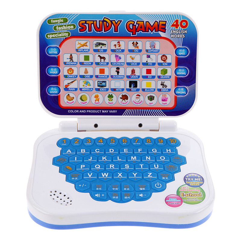 BS#S Toys Baby Kids Learning Machine Study Game Intellectual Learning Song Mini PC Machine Brand(China (Mainland))