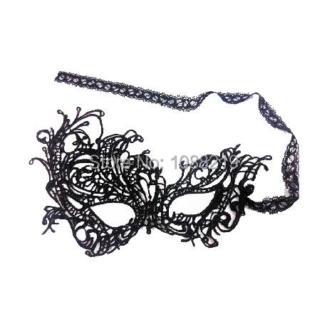 Free Shipping Masquerade Masks Party Decoration Masquerade Masks For Women Black Sexy Lace Masquerade Mask(China (Mainland))