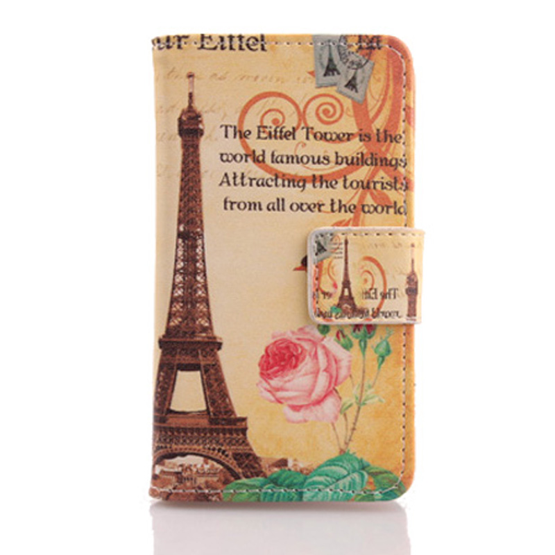 AIYINGE Book Design Mobile Phone PU Leather Case Card Slot Cover Doogee Shoot 1 5.5''