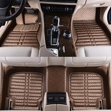 5D Super hight quality full surround covers car floor mat double depal car floor mat for Mercedes-Benz E260L G63 G500 GL450(China (Mainland))