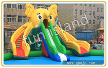 Hot Three Lines Giant Inflatable Slide Colorful Water Slide For Sale,Water Slide For Event(China (Mainland))