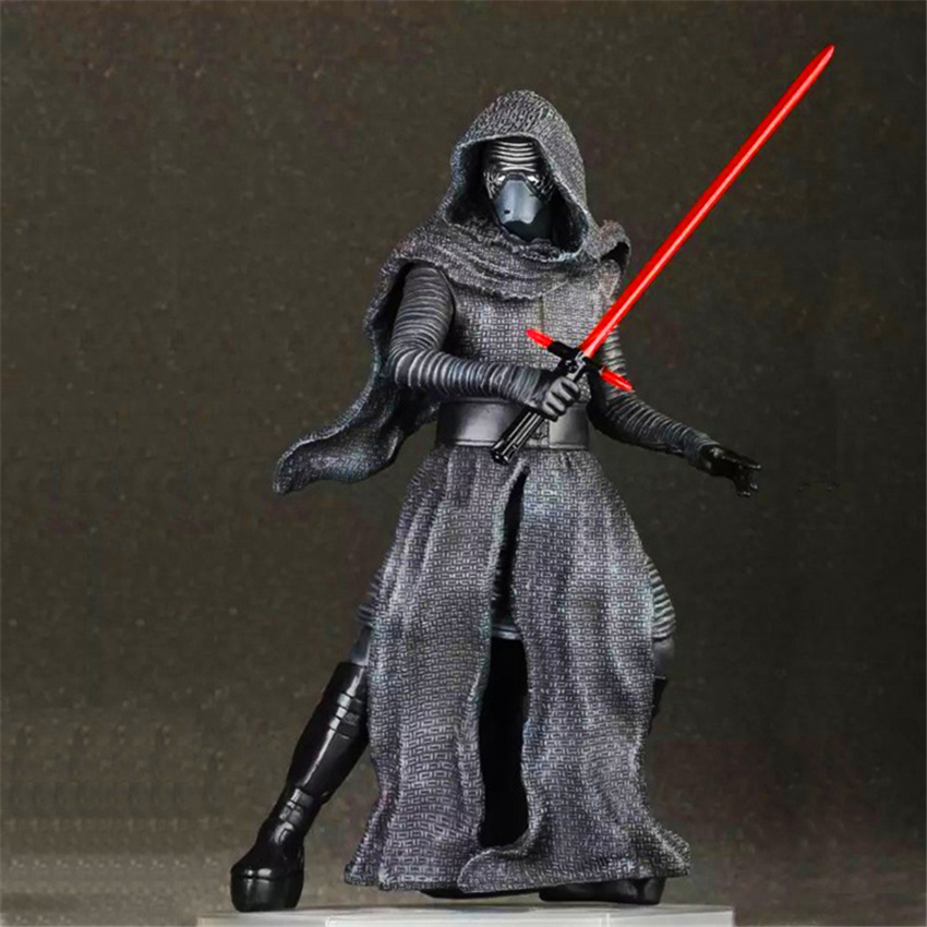 Star Wars The Force Awakens Kylo Ren PVC Model Action Figure Star Wars Figure Ben Solo Action &amp; Toy Figures For Boys Toys <br><br>Aliexpress
