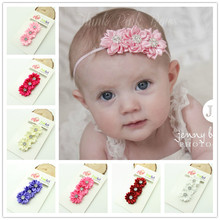 Buy children newborn Beautiful ribbon flower Headband Baby Girls hair flower band hairwear kids hair accessories for $1.49 in AliExpress store
