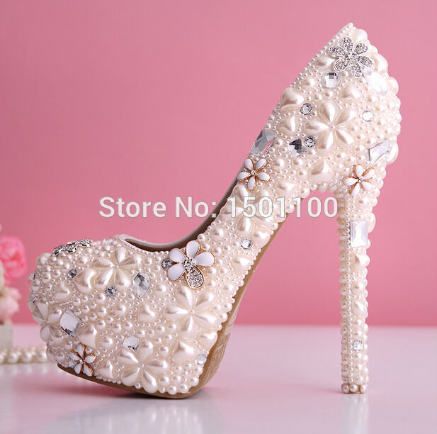 High Fashion Discount Shoes Big Discount Pearl Diamond