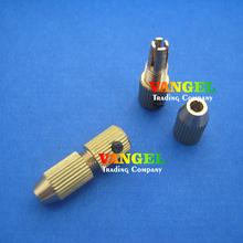 Mini-aleaciones de cobre Drill Chuck Twist Drill Bits DIY de Metal Drill 3.2 mm eje del motor 0.8 – 1.5 mm 2.5 ~ 3.2 mm