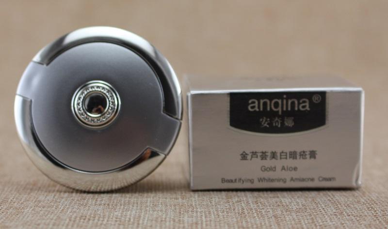 25g Remove acne printed prevent sunburn Gold Aloe beaut ifying whitening amiacne cream(China (Mainland))