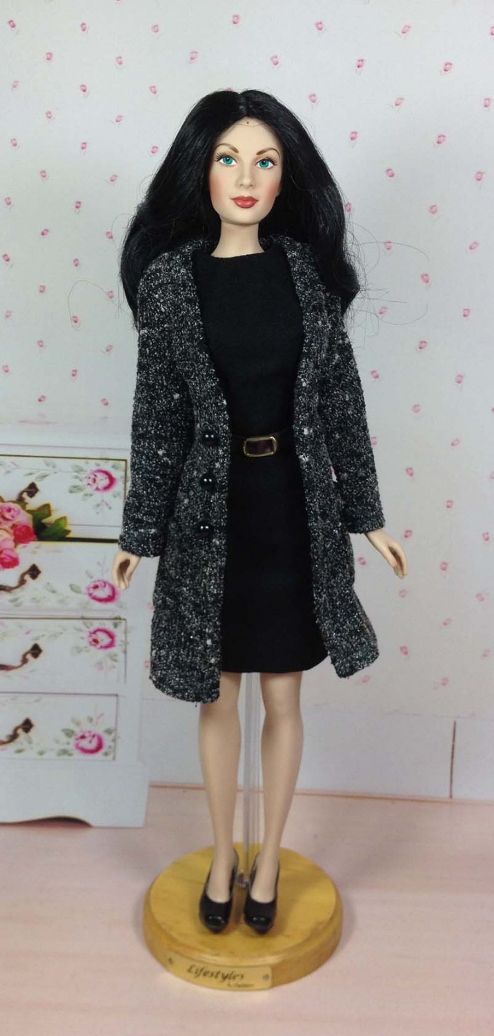 Original KINGSTATE 1/4 Franklin Mint Dolls Clothing Set Business Suit Coat+Dress Celebrity Doll Limited Collection Free Shipping<br><br>Aliexpress